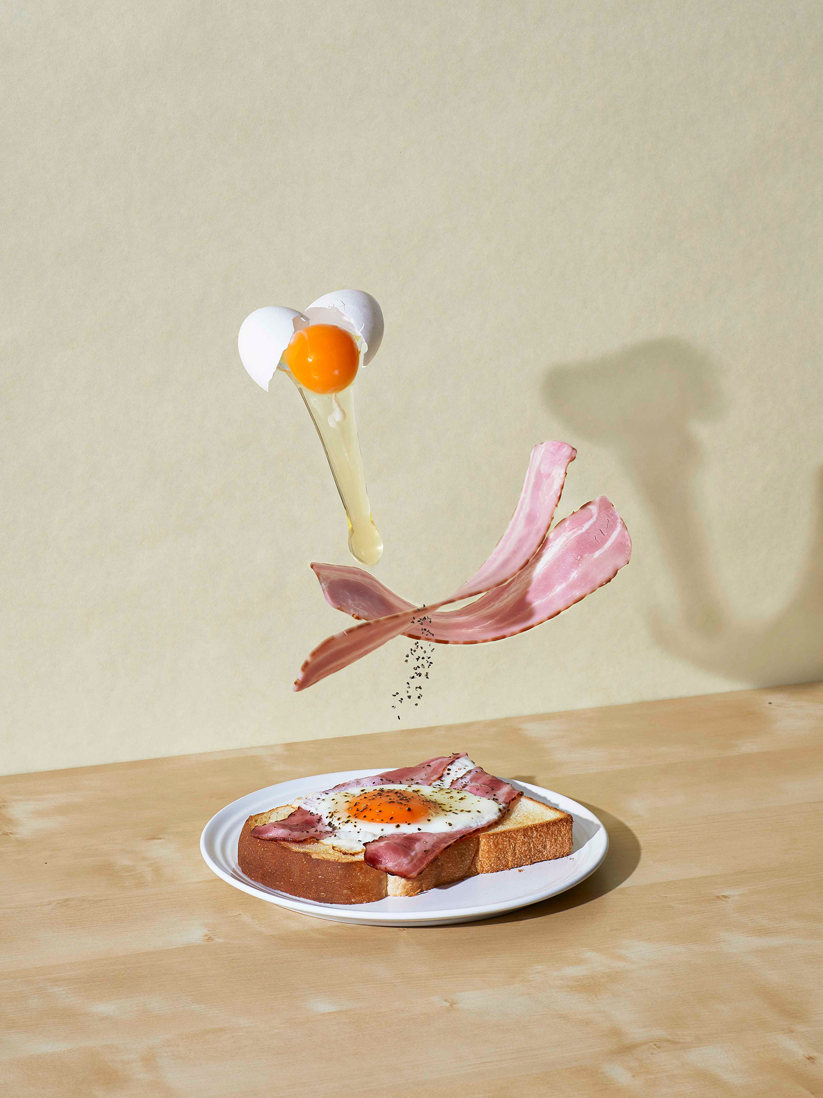 神戸情報誌 プレゼン資料(材料から料理になる過程を表現)